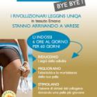 Finalmente anche a Varese i nuovi leggings Uniqa in tessuto emana!
