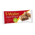 Wafer al gusto di cacao